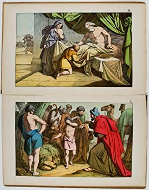Bilder zum Anschauungsunterricht für die Jugend: IV. Theil. Biblische Bilder zum alten ...