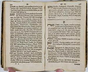 Lexicon Hebraicum et Chaldaicum: complectens omnes voces, tam primas quam derivatas, quae in Sacris...