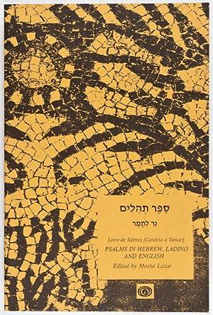 Livro de Salmos [Candela a Tamar] Psalms: Lazar, Moshe (Editor)