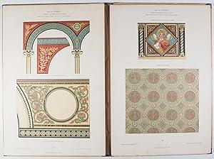 Moderne Kirchen-Decorationen. Ein Vorlagewerk für Ornamentale Kirchenmalerei: Feldegg, ...