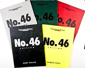 Süddeutsche Zeitung Magazin No. 46 Edition (Five Supplements, three signed by artists): Lebert...