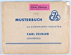 Musterbuch der Korbwaren-Industrie Carl Zeidler: Zeidler, Carl