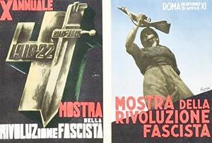 Ausstellung der Faschistischen Revolution: Erste Zehnjahrfeier des Marsches auf Rom: n/a