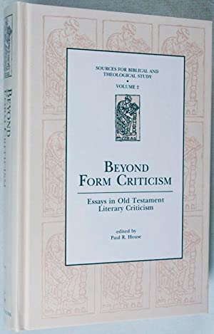 Beyond Form Criticism: Essays in Old Testament Literary Criticism (Sources for Biblical and ...