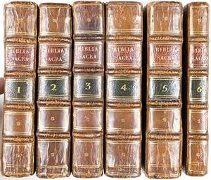 Biblia Sacra Vulgatae Editionis, Sixti V. Pont. M. Jussu Recognita, et Clementis VIII. Auctoritate ...