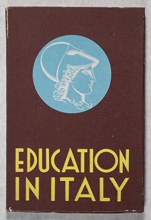 Education in Italy: Goad, Harold; Catalano, Michele