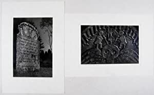 Early American Stone Sculpture Found in the Burying Grounds of New England [SIGNED]: Neal, Avon; ...