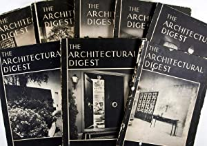 The Architectural Digest: A Pictorial Digest of Outstanding Architecture, Interior Decoration and ...