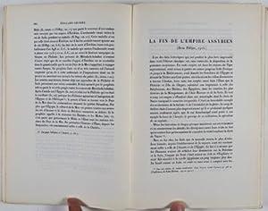 Recueil Edouard Dhorme: Etudes Bibliques et Orientales [INSCRIBED]: n/a