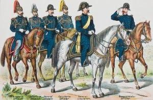 Die Armee der Vereinigten Staaten von Nord-Amerika. Mit Abbildungen von Offizieren und Soldaten ...