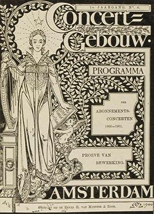 Geschiedenis van het Concert Gebouw [INSCRIBED]: Bottenheim, Mr. S.A.M.
