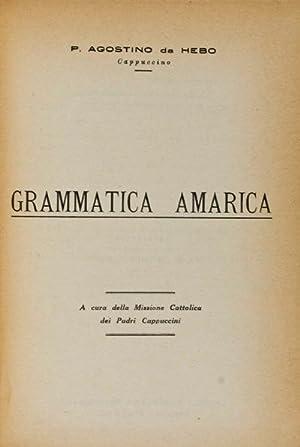 Grammatica Amarica: Hebo, P. Agostino da