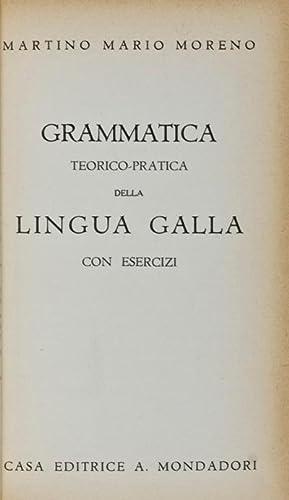 Grammatica Teorico-Pratica della Lingua Galla con Esercizi: Moreno, Martino Mario