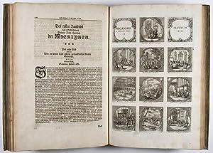Sculptura historiarum et temporum memoratrix. Das ist: Gedächtniß-Hülfliche Bilder-Lust der ...