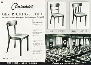 Bombenstabil Musterbuch 37-38: Stuhlindustrie Stoelcker K.-G