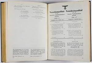Verordnungsblatt für die Besetzten Niederländischen Gebiete, Jahr 1940 - 1944. ...