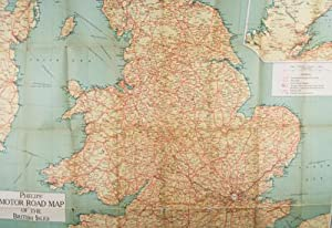 Philips' Motor Road Map of the British Isles: The London Geographical Institute