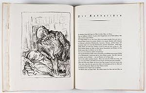Musikalische Novellen. Mit fünf Original-Lithographien von Jacob Steinhardt: Jizchok Leib, ...