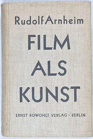 Film als Kunst: Arnheim, Rudolf