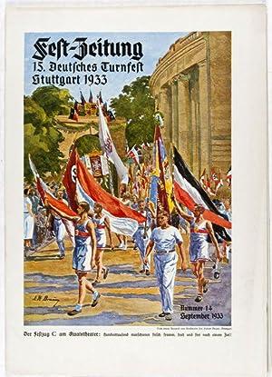 Fest-Zeitung 15. Deutsches Turnerfest Stuttgart 1933 (15 vols. complete): N/A