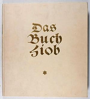 Das Buch Hiob mit Original-Lithographien von Willi Jaeckel [SIGNED BY THE ILLUSTRATOR]: Jaeckel, ...