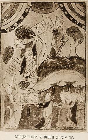 Historja Zydów w Krakowie i na Kazimierzu 1304-1868. Vol 1 (bound in two books): Balaban, Majer
