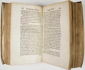 Synagoga Judaica :De Judaeerum fide, ritibus, ceremoniis tam publicis et sacris, quam privatis, in ...