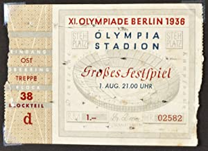 Unique photo album of the Berlin Olympic Games of 1936: n/a