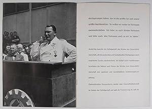 Generalfeldmarschall Göring bei den Junkerswerken in Dessau am 5. August 1939: n/a