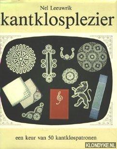 Kantklosplezier, een keur van 50 kantklospatronen: Leeuwrik, Nel