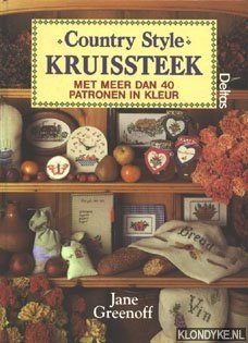 Country style kruissteek, met meer dan 40: Greenoff, Jane