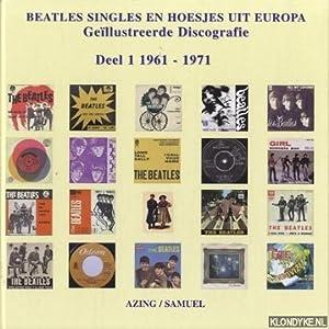 Beatles singles en hoesjes uit Europa: geïllustreerde: Moltmaker, Azing