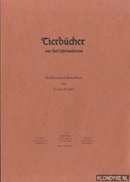 Tierbücher aus fünf Jahrhunderten: Nissen, Claus