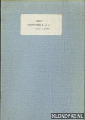 Index sleepboten 1 en 2: Jansen, J.G.