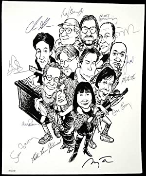 Signed Rock Bottom Remainders Poster