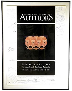 1994 International Festival of Authors Promotional Poster