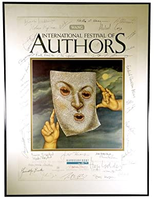 1989 International Festival of Authors Promotional Poster