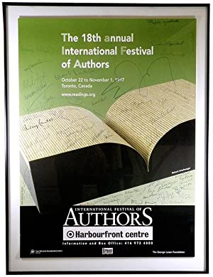 1997 International Festival of Authors Promotional Poster