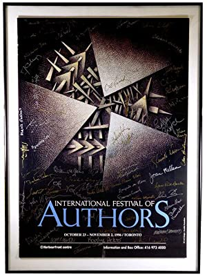1996 International Festival of Authors Promotional Poster