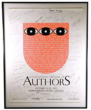 1993 International Festival of Authors Promotional Poster