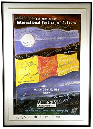 1999 International Festival of Authors Promotional Poster