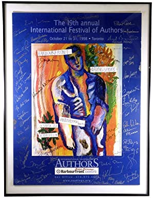 1998 International Festival of Authors Promotional Poster