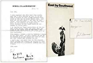 East by Southwest and Typed Letter Signed to James Welch [Inscribed Association Copy]