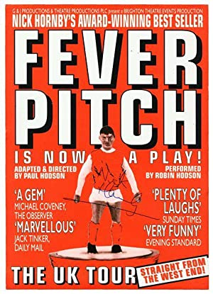 Signed Handbill for Fever Pitch