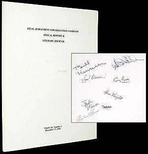 Final Judgement Construction Company Annual Report & Literary Journal: KINSELLA, W.P.)