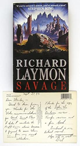 Savage and Autograph Note Signed: LAYMON, Richard