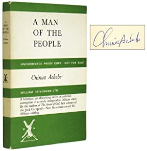 A Man of the People [Signed Uncorrected: ACHEBE, Chinua