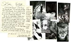 Archive of Original Photographs and Autograph Letter Signed