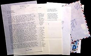 Correspondence: SALTER, Mary Jo