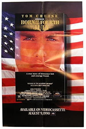 Born on the Fourth of July Promotional Booklet/Poster